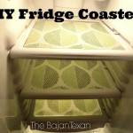 DIY Fridge Coasters