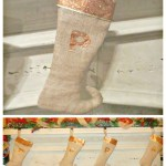 DIY Christmas Stockings: Burlap Elf Stockings (Holiday Decor Series 3)