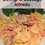 Shrimp and Sausage Alfredo Recipe