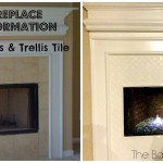 Amazing Fire Glass Fireplace Makeover