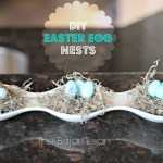 DIY Easter Decor: Egg Nests (Spring Decor 1)