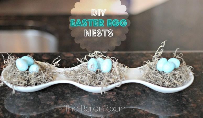 DIY Easter Decor: Egg Nests (Spring Decor 1)