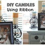 Decorate Candles With Ribbons