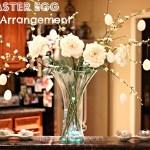 DIY Easter Egg Floral Arrangement (Spring Series 2)