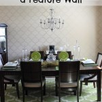 How to Stencil a Wall: DIY Wall Painting Project