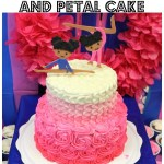 Tasty Tuesdays with Ombre Rosette Petal Cake