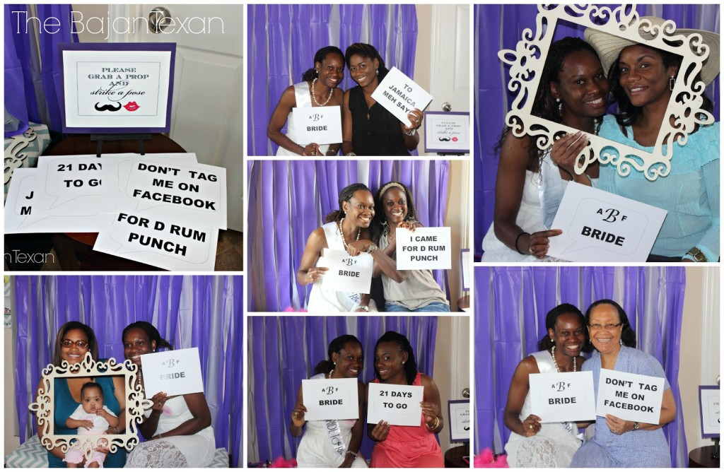Diy Bridal Shower Purple And Silver The Bajan Texan