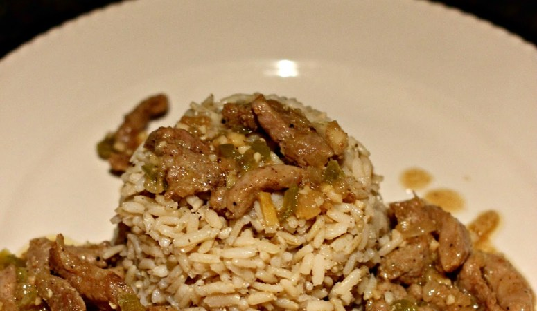 Tasty Tuesdays Link Party with Ginger Garlic Sauteed Pork Recipe!