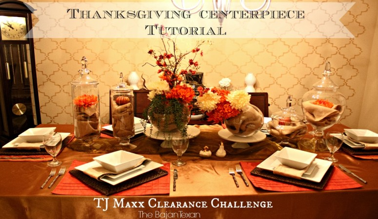 DIY Thanksgiving Centerpiece Video Tutorial