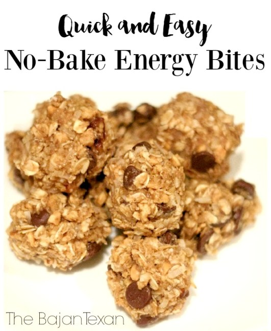 No Bake Energy Bites a Healthy Snack - Looking for better snacks to replace the junk food? This is the perfect snack you can do in minutes!