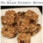 No Bake Energy Bites a Healthy Snack