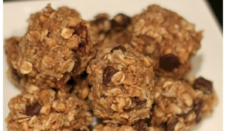 No Bake Energy Bites a Healthy Snack