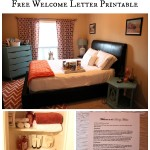 6 Ways to Prepare for Overnight Guests (Free Welcome Letter Printable)