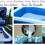 Ultimate Frozen Party Snow and Favors: Snow In Seconds #SnowReview