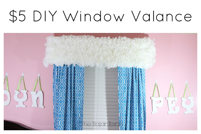 $5 DIY Coffee Filter Window Valance