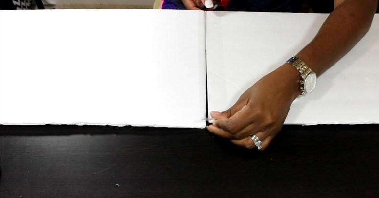 tape foam board