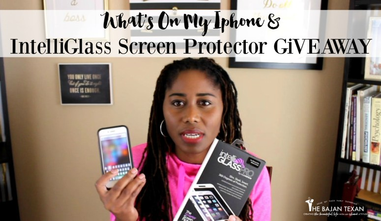 How to Protect Iphone With IntelliGlass: What's On My Iphone + Giveaway