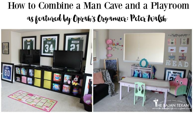 man cave and playroom