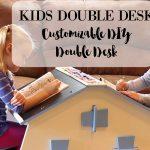 The Best Children's Desk Ever: Double Desk for Kids