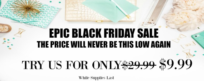black friday sale subscription box