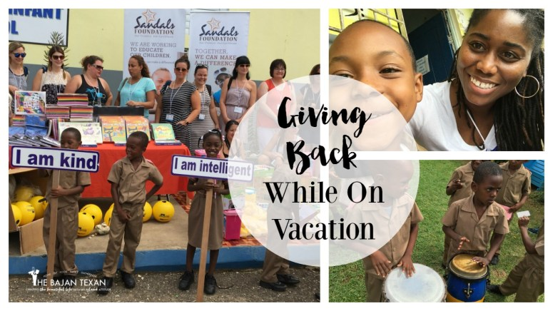 philanthropy on vacation