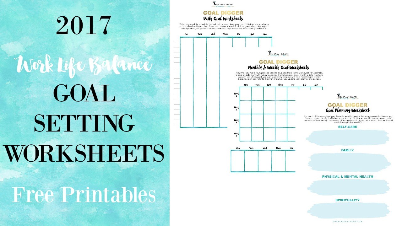 Free Worksheet Free Goal Setting Worksheet free goal planning worksheets for the new year bajan texan click here to get your setting worksheets