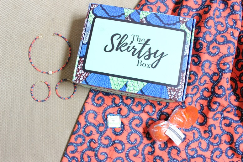 African skirt subscription box