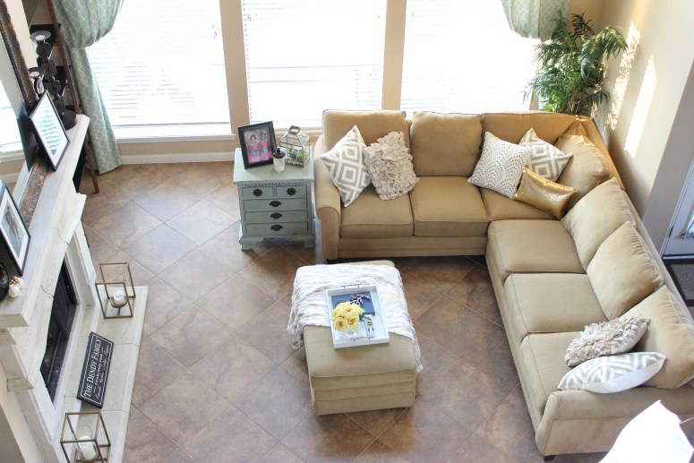 My neutral fall living room decor on a budget the bajan How can i decorate my living room on a budget