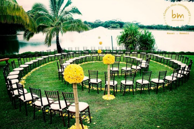 Unique Ceremony Seating Ideas for Outdoor Weddings  Bajan Wed  Bajan Wed