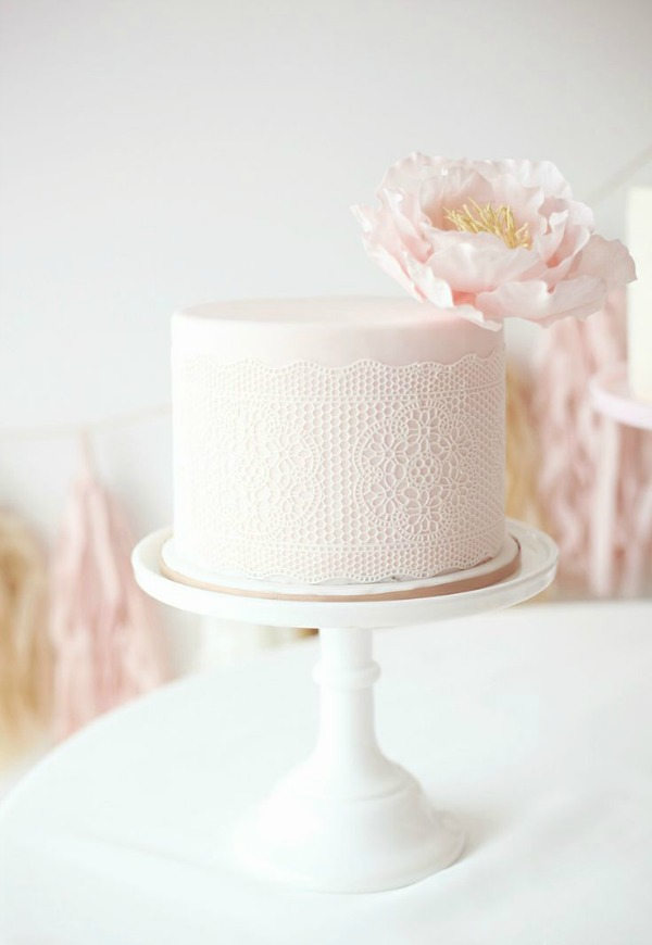 Single Tier Wedding Cakes
