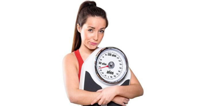 El peso y la edad
