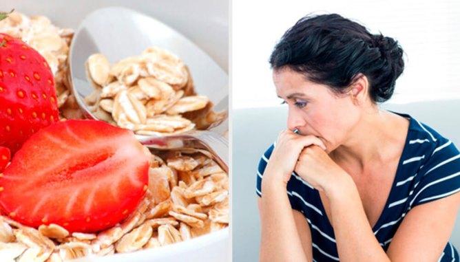 ansiedad y depresión con alimentos.