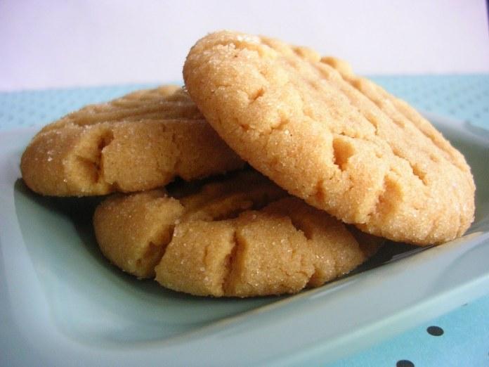 galletas de maqntequilla de mani