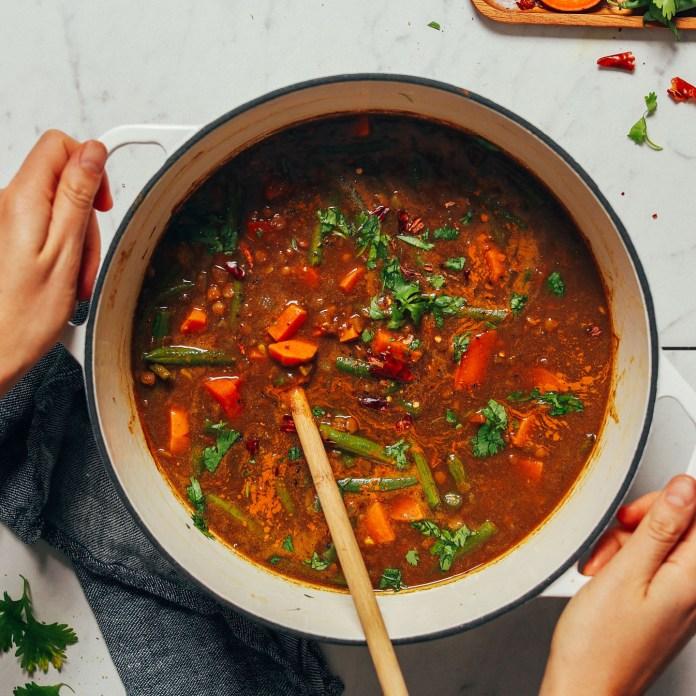 sopa marroqui