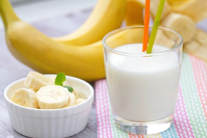platanos con leche