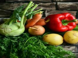 Hortalizas o verduras que ayudan a mantener tu cuerpo sano y con energía Vegetables or greens that help keep your body healthy and energetic
