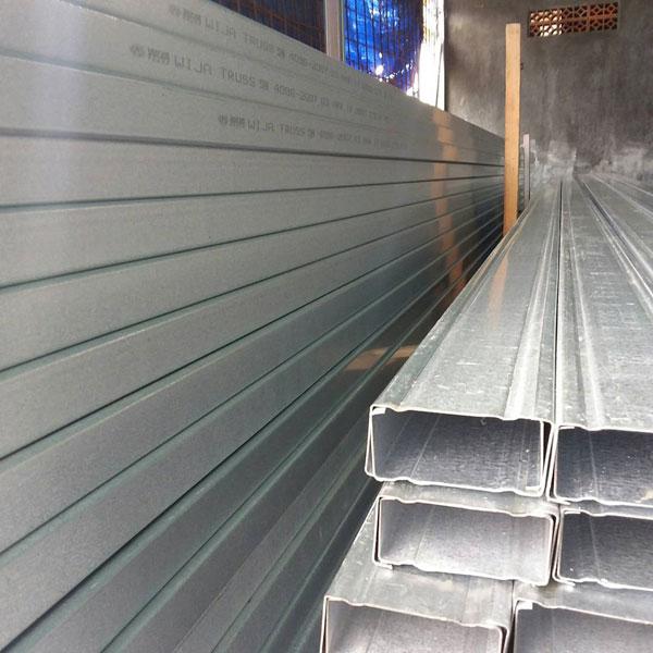 baja ringan merk wija rangka atap truss cv utama karya