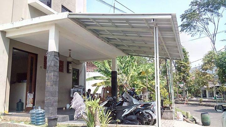 baja ringan untuk garasi mobil gambar model canopy | cikarang