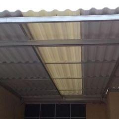 Pemasangan Baja Ringan Di Cikarang Canopy Rooftop Alderon Taman Aster |