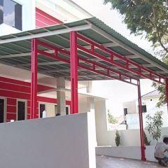 Rangka Atap Baja Ringan Untuk Teras Gambar Model Canopy Cikarang