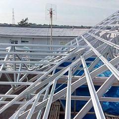 Rangka Atap Baja Ringan Model Limas 46 Jurai Untuk Mempercantik Ruangan