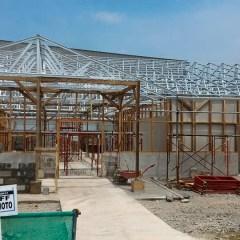 Pemasangan Baja Ringan Di Cikarang Proyek Konstruksi Atap Pt. Ajinomoto ...