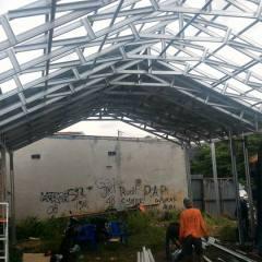 Tukang Baja Ringan Bekasi Proyek Konstruksi Untuk Gudang Di Tambun