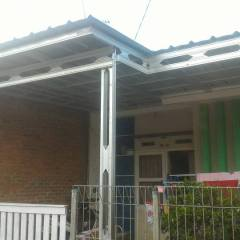 Rangka Atap Baja Ringan Untuk Teras Proyek Kanopi Model Double Full Variasi ...