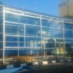 Kanopi Baja Ringan Genteng Pasir Proyek Konstruksi Di Kantor Korem 051 Wkt ...