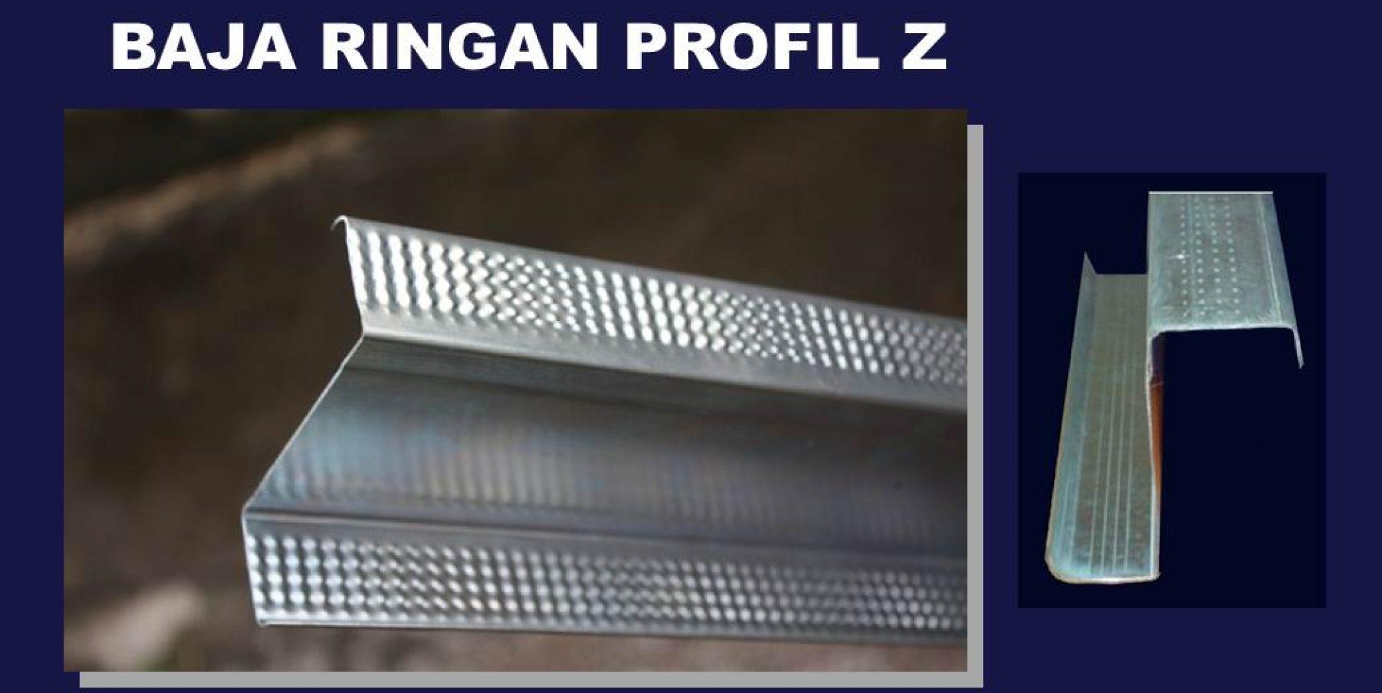 pabrik baja ringan profil z solusi atap rumah