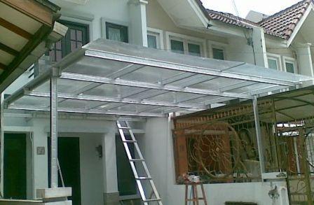 jasa pasang kanopi baja ringan bekasi tangerang atap | rangka