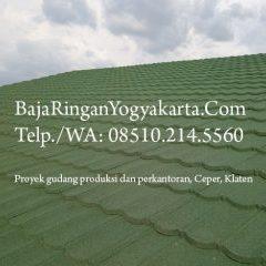 Harga Atap Baja Ringan Yogyakarta