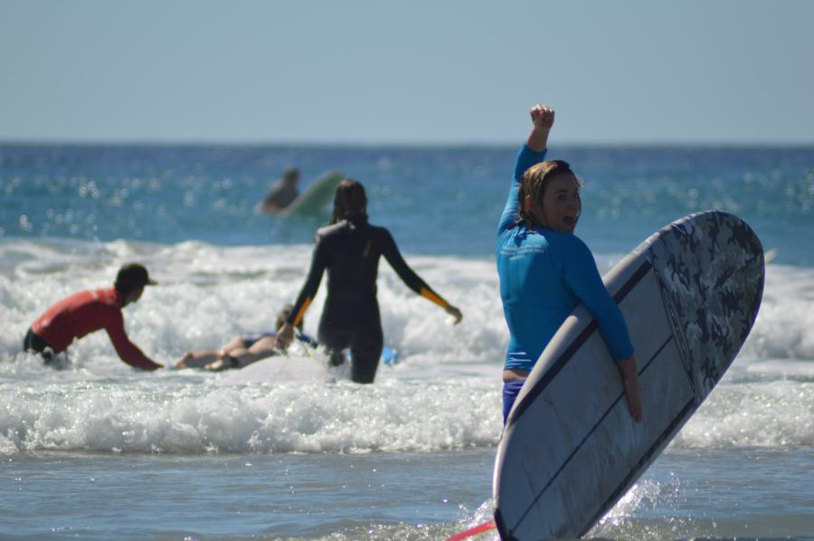 Learning to Surf? Learn how to practice surfing first.