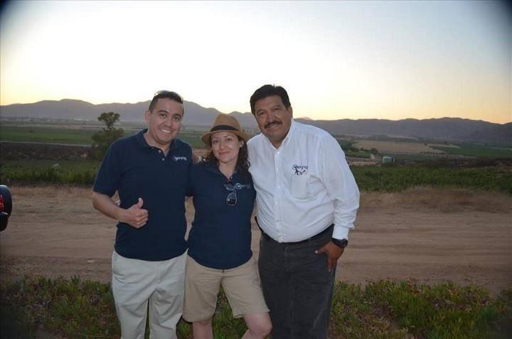 Guías de Turistas durante las Fiestas de la Vendimia 2013, en Valle de Guadalupe